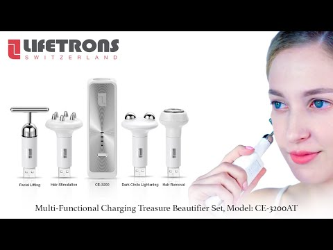 Lifetrons Beauty Transformers Multi-functional Beauty Treatment Set (CE-3200AT)