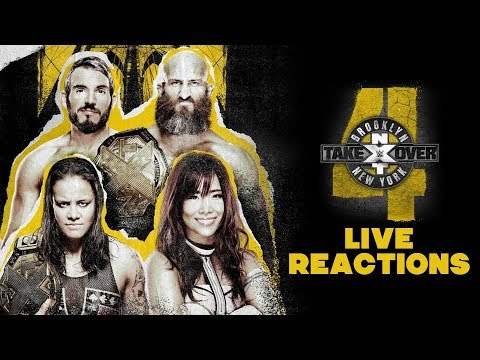 NXT TakeOver: Brooklyn 4 Live Reactions