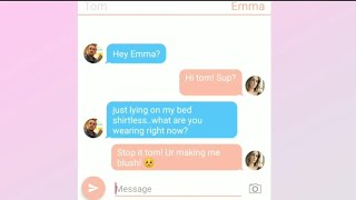 omg! Tom Felton romantic texts with girlfriend Emma Watson Leaked!