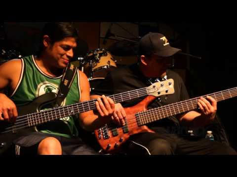 Warwick Bass Workshop in Argentina - Andy Irvine and Robert Trujillo