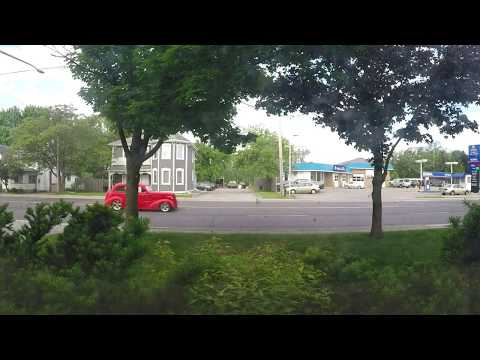 Time lapse of classic cars driving by to the 2017 Fleetwood Country Cruize In - June 3, 2017