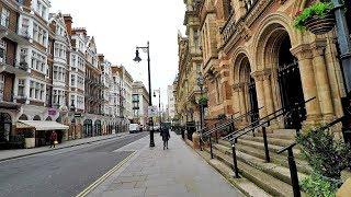 London Mayfair. Walk Around from Park Street to Regent Street