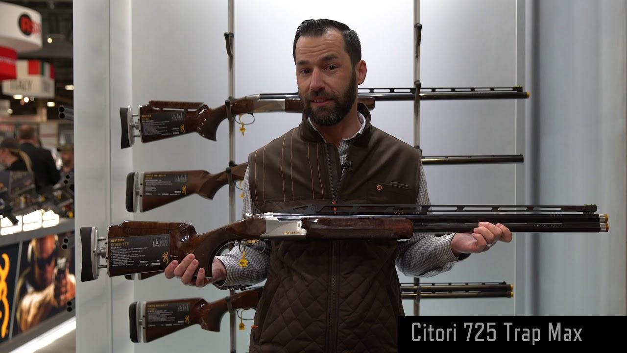 Citori 725 Trap Max — 2019 SHOT Show