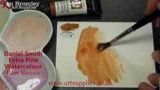 Daniel Smith Extra Fine Watercolour Raw Sienna 096 Series 1