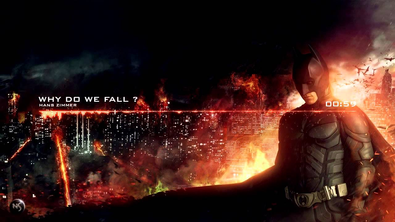 Why Do We Fall Wallpaper Hans Zimmer Why Do We Fall The Dark Knight Rise