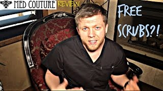 Med Couture Scrubs Review! FREE SCRUBS?!