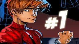 Ultimate Spider-Man Video Game - Walkthrough Part 1 - THE SUIT!