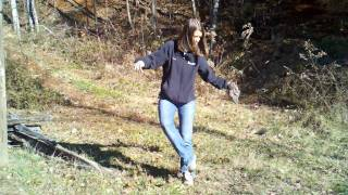 Girl Steps In Dog Poop