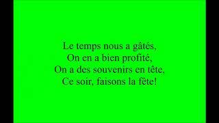 Trois Cafés Gourmands - A Nos Souvenirs (Lyrics)