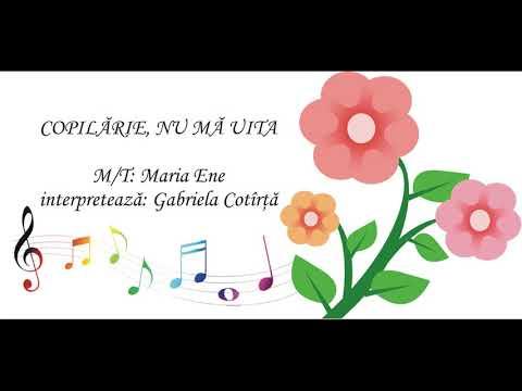 COPILĂRIE, NU MĂ UITA – Cantece pentru copii in limba romana