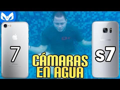 DUELO BAJO AGUA iPhone 7 VS Galaxy S7 CÁMARAS