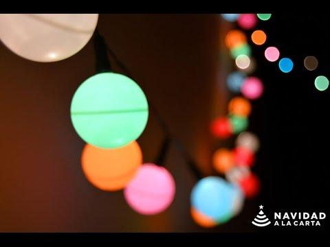 manualidades de navidad guirnalda de luces - Guirnaldas De Luces