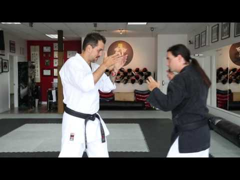 Karate KCRD - Technique contre étranglement