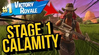 Stage 1 Calamity Skin Gameplay! In Fortnite Battle Royale