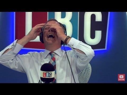 The Nigel Farage Show:  North Korea. Live LBC - 4th September 2017