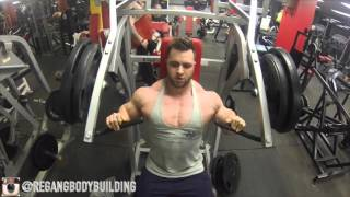 Regan grimes - full chest workout