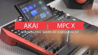 Akai MPC X Standalone Sampler & Sequencer