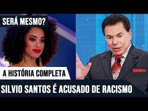 A HISTÓRIA COMPLETA – SILVIO SANTOS É ACUSADO DE RACISMO – SERÁ VERDADE?