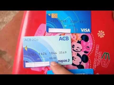 Thẻ ATM ngân hàng ACB rút được bao nhiêu tiền một ngày
