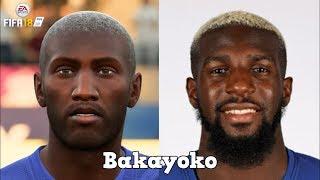 FIFA 18 Worst Faces   FT. Bakayoko, Krychowiak, Theo Hernández... etc