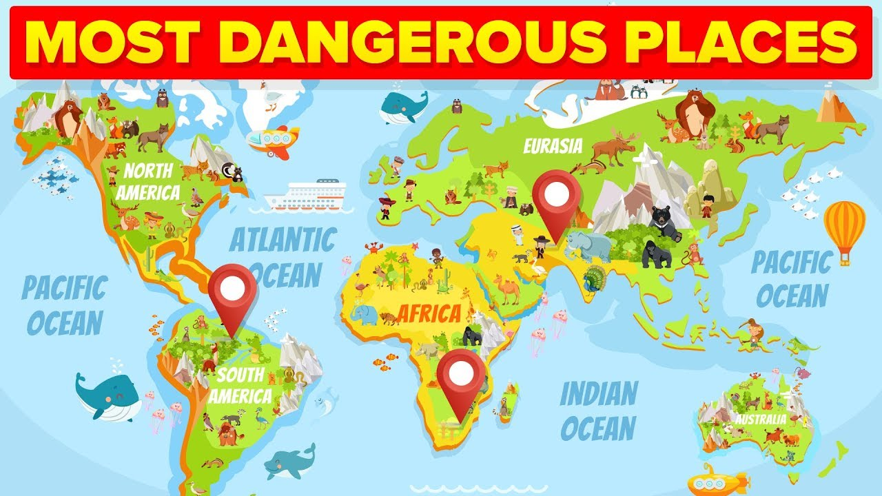Most Dangerous Places In The World   YouTube