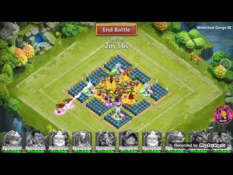 Castle Clash-WG 3 With Teammates