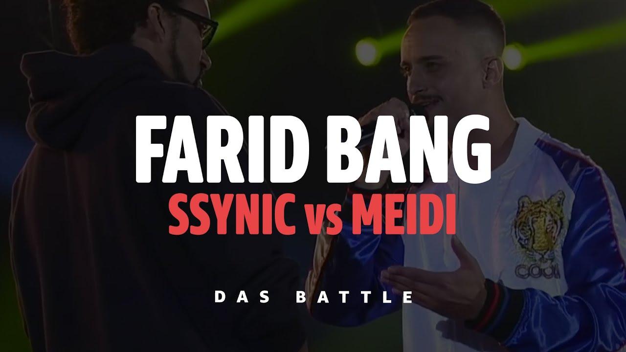 SSYNIC vs MEIDI - ⚔️ DAS BATTLE ⚔️  [Farid Bang - Das Mega-Event Highlights]