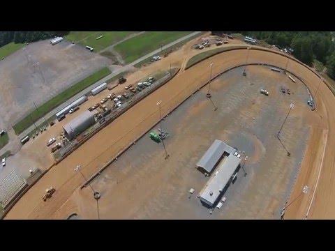 Virginia Motor Speedway Drone flyover