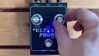 5 Minutes with the Vertex Ultraphonix Overdrive - Pedal Demo