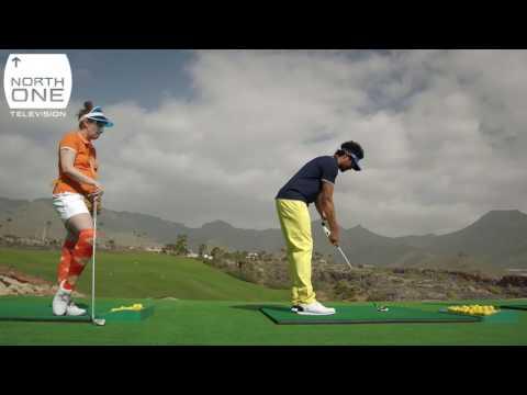 Richard Ayoade & Lena Dunham play golf in Tenerife - Travel Man: 48 Hours in...