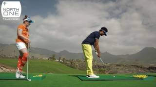 Richard Ayoade & Lena Dunham play golf in Tenerife - Travel Man: 48 Hours in...