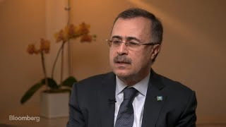 Saudi Aramco CEO on IPO, Expansion, Shale Competition