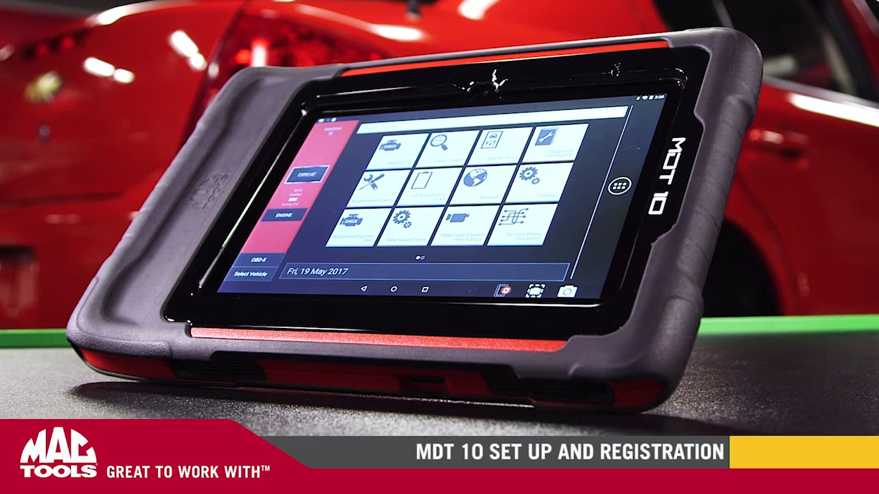 MDT 10 Diagnostic Scan Tool | Features | Mac Tools®