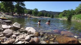 camping rivière en Cévennes
