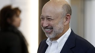 Goldman Sachs CEO Lloyd Blankfein: Safety in Markets Comes at a Price