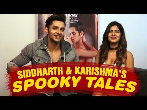 Siddharth Gupta and Karishma Sharma of Ragini MMS Returns get spooky with BollywoodLife