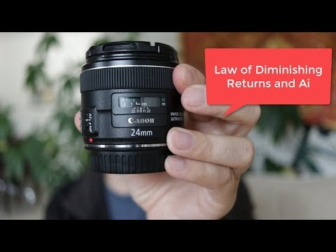 The Law of diminishing returns and Canon Camera Lens