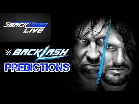 Blame Wiki - WWE Backlash 2016 - Predictions (With Malcolm Price)