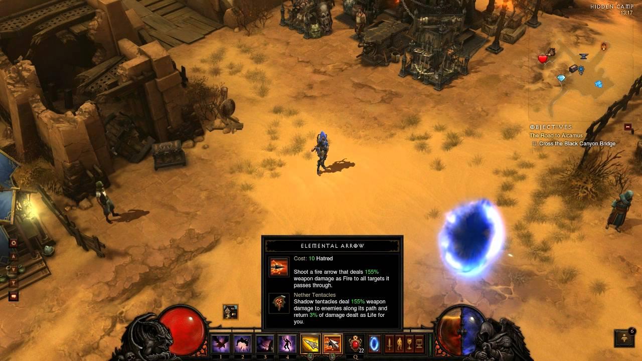 Diablo 3 Demon Hunter Leveling Guide 1-70 + First Greater
