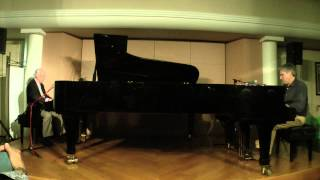 """ROSETTA"": CHRIS DAWSON / DICK HYMAN at PIEDMONT PIANO COMPANY (August 9, 2014)"