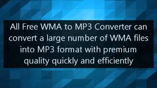 How to Convert WMA to MP3 with No Cost [100& Free Software]