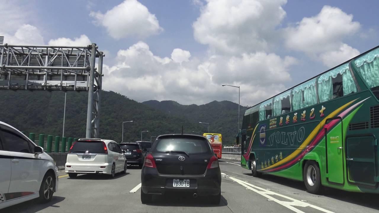 國道五號 蔣渭水高速公路上 流量控制 紅綠燈 - YouTube