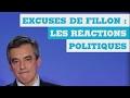 90''POLITIQUE - Excuses de Fillon : Les réactions politiques
