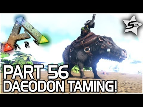 NEW ARK PS4 UPDATE, DAEODON TAMING + EPIC ABILITY! - ARK Survival Evolved PS4 Gameplay Part 56