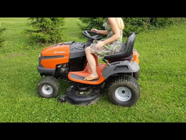 Traktorek kosiarka Husqvarna lth koszenie  trawy