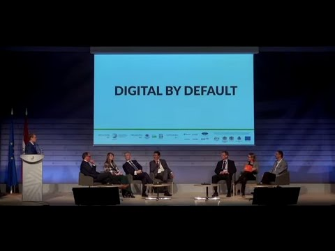 "1st set ""Digital by Default"": CONT_ACT Riga conference, 6 May 2015"