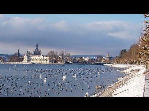 Konstanz am Bodensee im Winter | HLUvideos