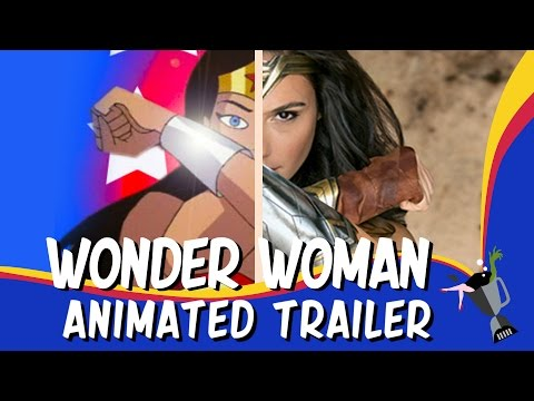 Wonder Woman Animated Trailer
