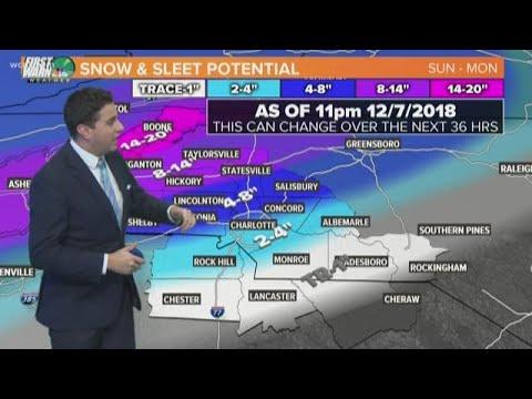 Saturday: Winter Storm Update