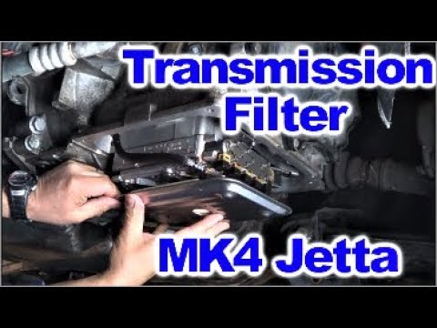 How to Replace Transmission Fluid and Filter on MK4 VW Jetta by Howstuffinmycarworks